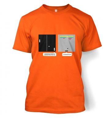 Wonder Of Dimenions retro gaming t-shirt