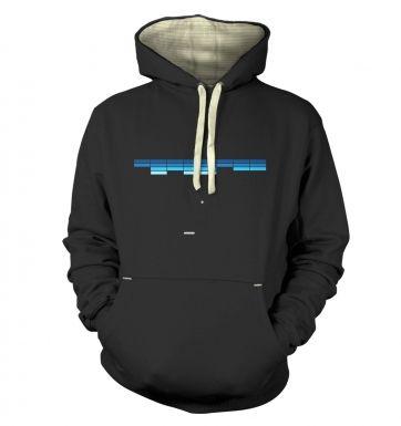 Retro Arcade Style (purple/blue)  hoodie (premium)