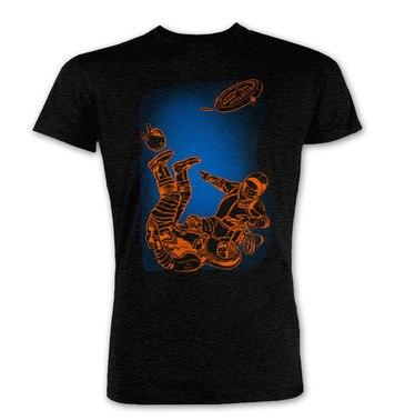 Retro Comic Astronauts premium t-shirt