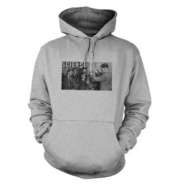 Retro Science Graphic hoodie
