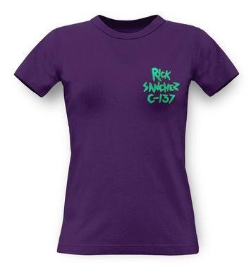 Rick Sanchez C-137 classic women's t-shirt