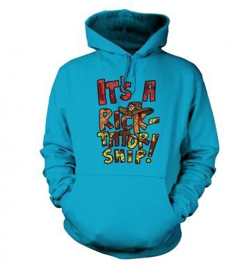 Ricktatorship hoodie