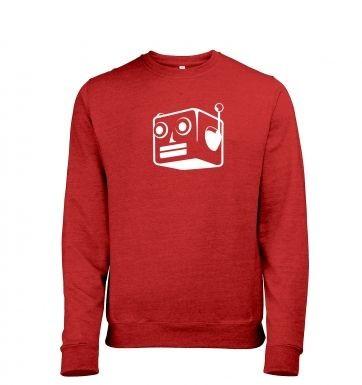 Robot heather sweatshirt
