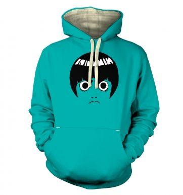 Rock Lee Face  hoodie (premium)