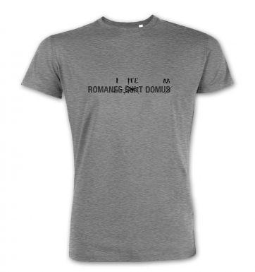 Romanes Eunt Domus premium t-shirt