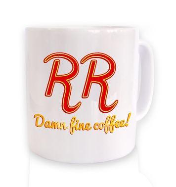 RR Damn Fine Coffee mug