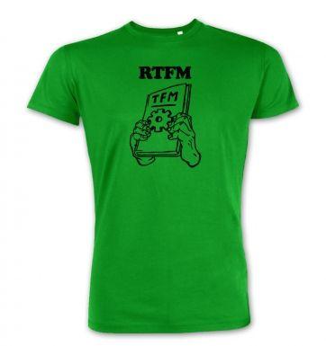 RTFM  premium t-shirt