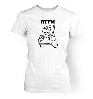 RTFM   womens t-shirt