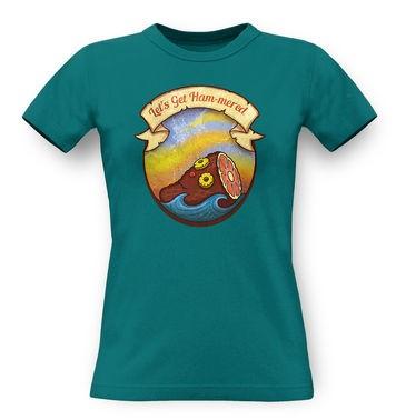 Rum Hammered classic women's t-shirt