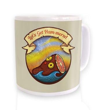 Rum Hammered mug