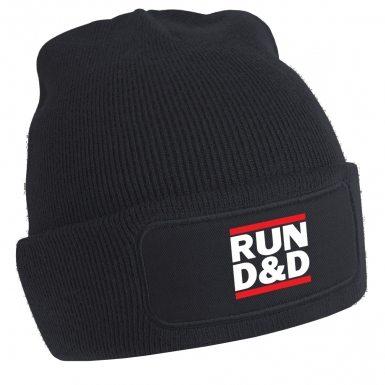 RUN D&D beanie hat