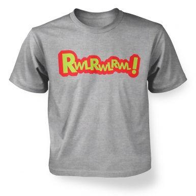 Rwlrwlrwl  kids t-shirt