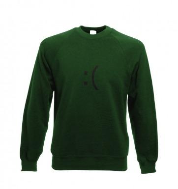 Sad Emoticon sweatshirt