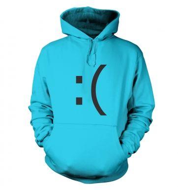 Sad Emoticon hoodie
