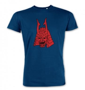 Samurai Helmet Japanese  premium t-shirt