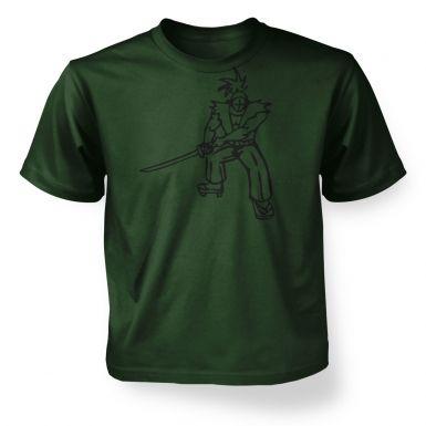 Samurai Ronin Japanese  kids t-shirt