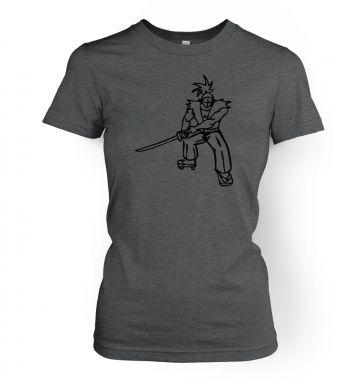 Samurai Ronin Japanese  womens t-shirt