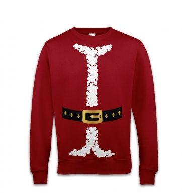 Santa costume sweatshirt