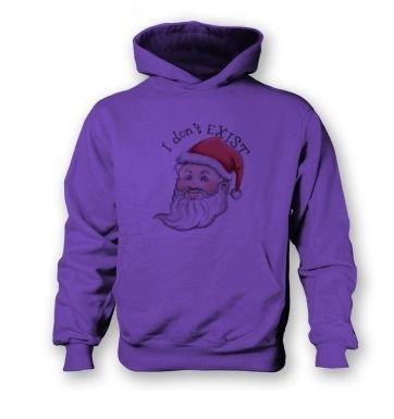 Santa doesn't exist kids' hoodie