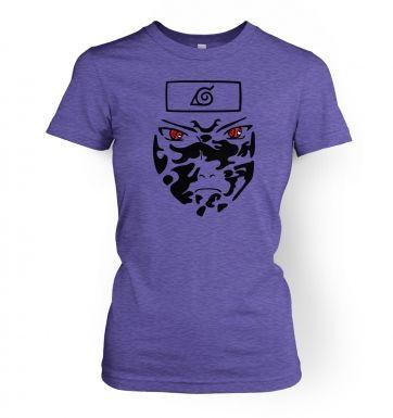 Sasuke Face   womens t-shirt