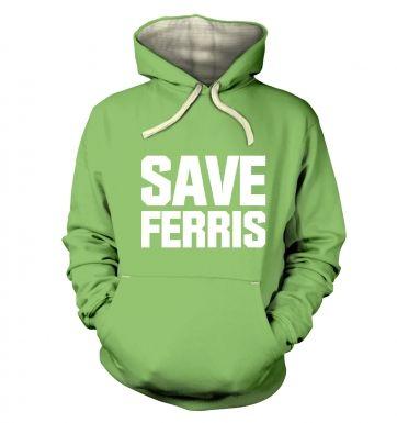 Save Ferris (White) hoodie (premium)
