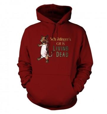 Schrödinger's Cat Is Living Dead hoodie