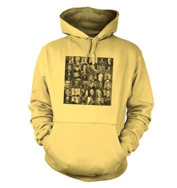 Scientist Collage Graphic hoodie