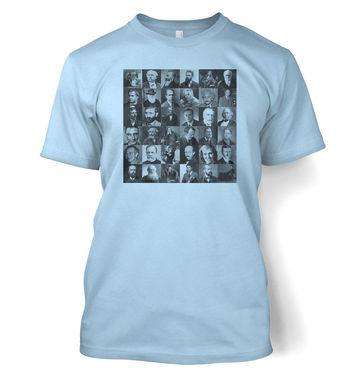 Scientist Collage Graphic t-shirt