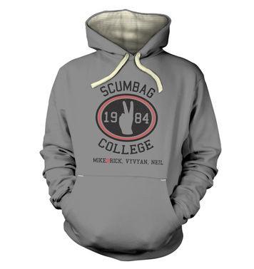 Scumbag College premium hoodie