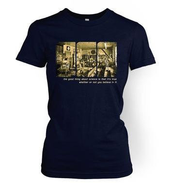 Sepia Science Lab women's t-shirt