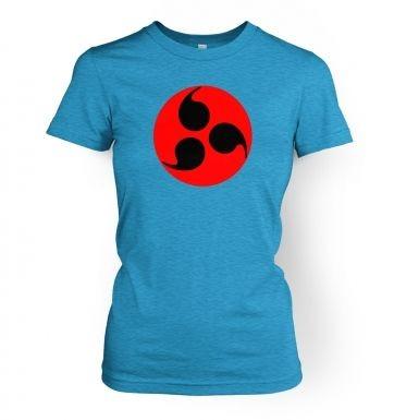 Sharingan Eye women's t-shirt
