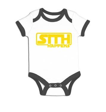 Sith Happens baby grow