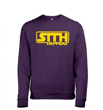 Sith Happens heather sweatshirt
