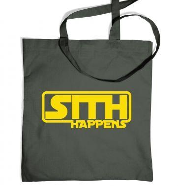 Sith Happens tote bag