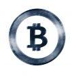 Distressed Bitcoin mug