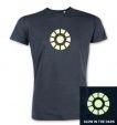 Arc Reactor (glow in the dark) men's t-shirt