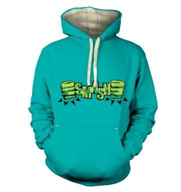 SMASH Fists hoodie (premium)