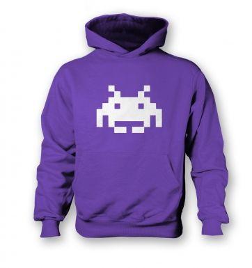 Alien Invader Pixel Art  kids hoodie