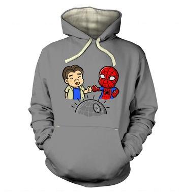 Spider-Man Death Star premium hoodie