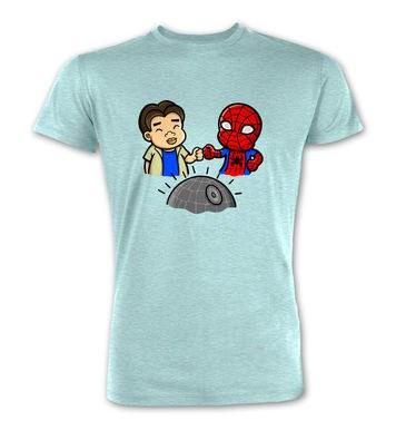 Spider-Man Death Star premium t-shirt