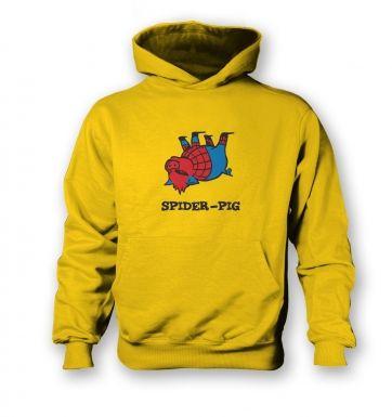 Spider Pig  kids hoodie