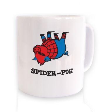 Spiderpig mug