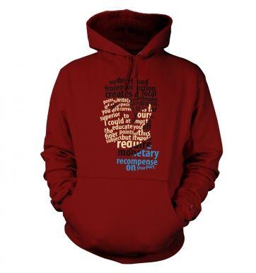 Spock's Milkshake hoodie