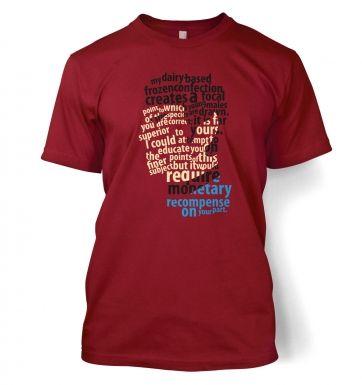 Spock's Milkshake t-shirt