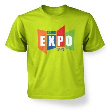 Stark Expo 74  kids' t-shirt