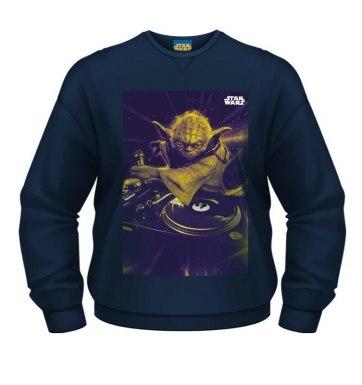 Star Wars Yoda DJ sweatshirt