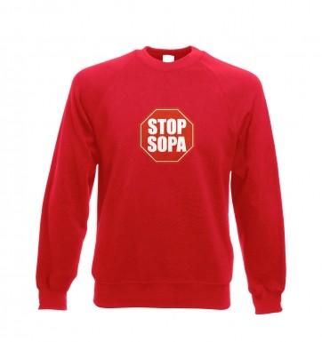 Stop SOPA sweatshirt