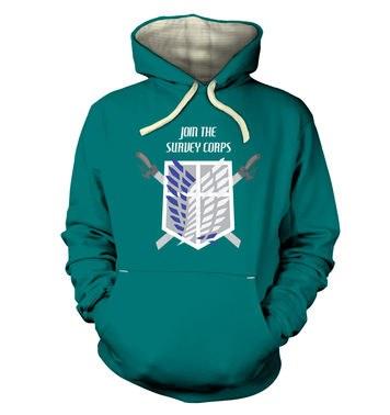 Survey Corps premium hoodie