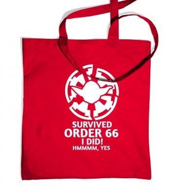 Survived Order 66 I Did tote bag