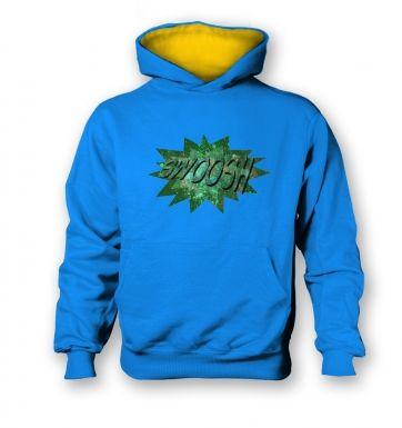 Swoosh kids' hoodie (contrast)